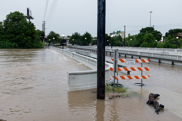 Army Vehicle Overturned In Texas Flooding
