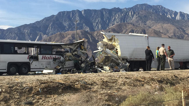 Semi-Truck Accident in Palm Springs Kills 13 People