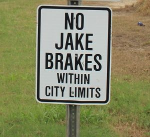 Using the Jake Brake – Dos and Don'ts