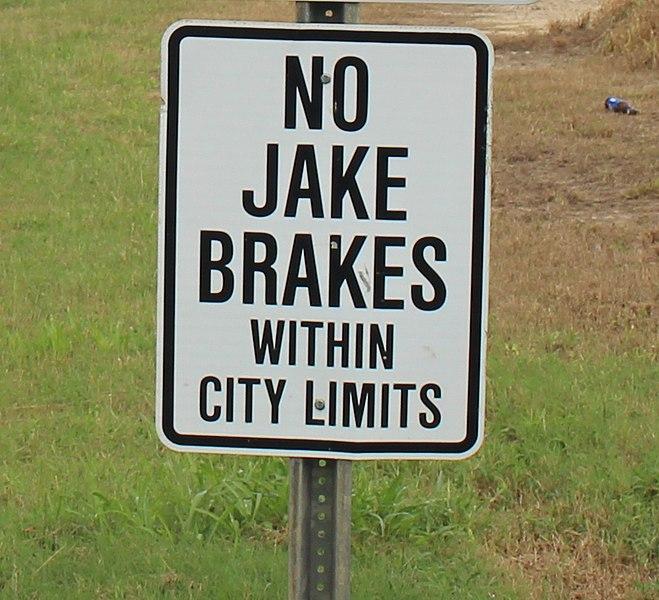 Using the Jake Brake – Dos and Don'ts