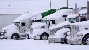 Truck Stops Closed due to Power Outages From Winter Storm