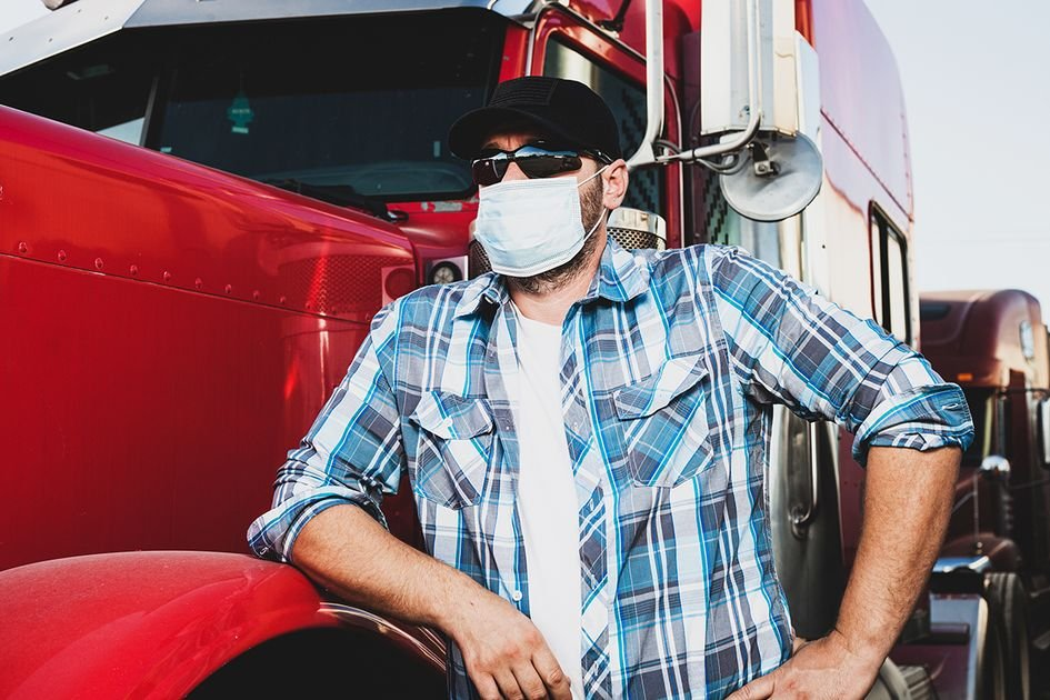 Truckers Evade A Mask-Querade! CDC Doesn't Need Them To Wear